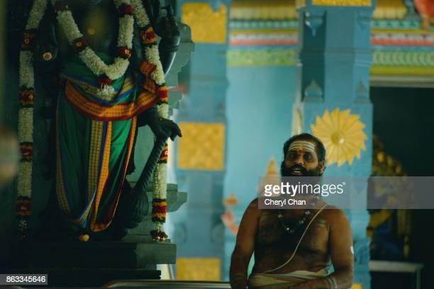 Guru at Indian Temple