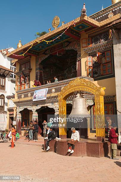 Guru Lhakhang Gompa and bell