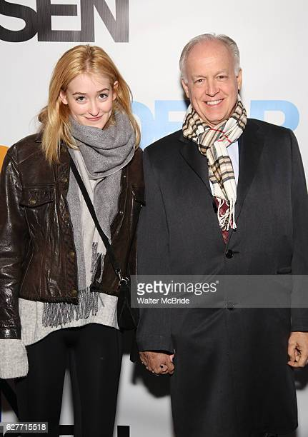 Gus Birney and Reed Birney attends the Broadway Opening Night Performance of 'Dear Evan Hansen' at The Music Box Theatre on December 1 2016 in New...