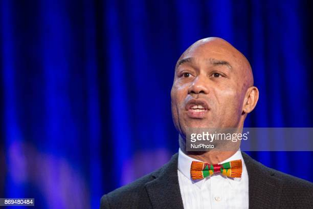 Gus CaselyHayford the new director of the Smithsonian National Museum of African Art spoke at The Smithsonian National Museum of African Art's 2nd...