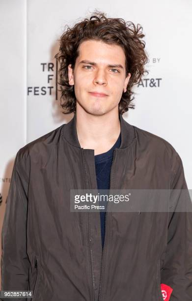 Gus Halper attends the screening of 'Maine' during the 2018 Tribeca Film Festival at Cinepolis Chelsea Manhattan