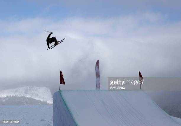 Gus Kenworthy competes in the Men's Ski Slopestyle qualifier during Day 2 of the Dew Tour on December 14 2017 in Breckenridge Colorado