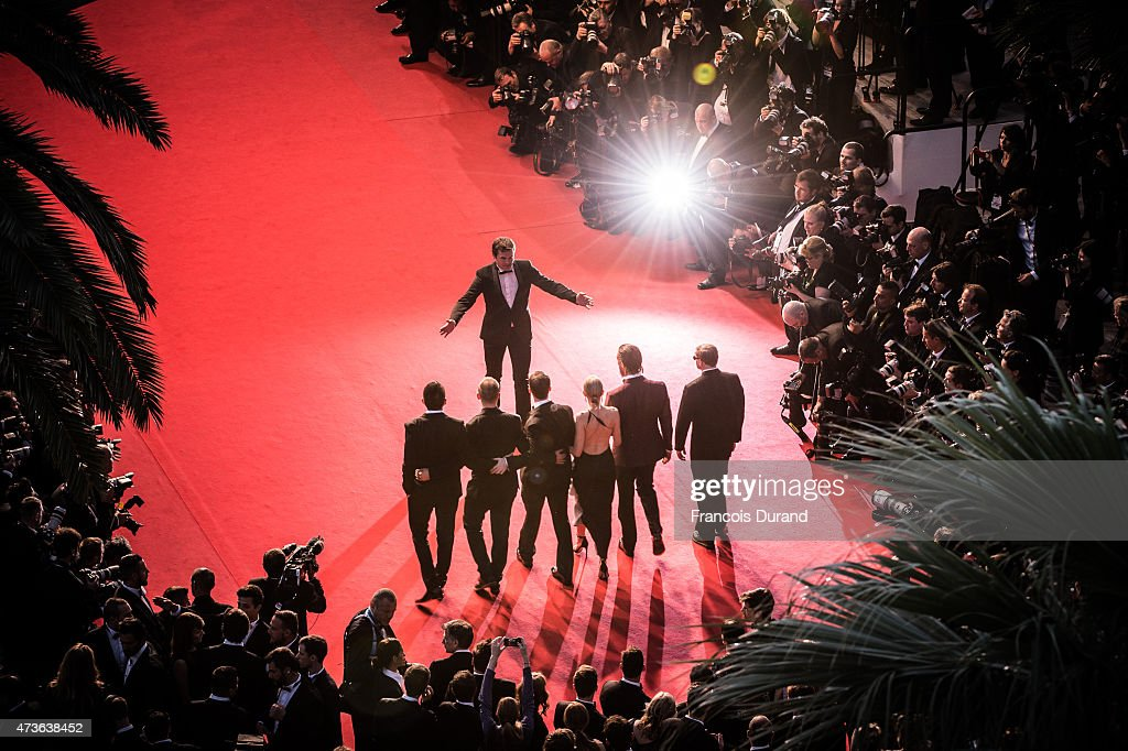 Gus Van Sant, Matthew McConaughey, Naomi Watts, Chris Sparling, guests attend the Premiere of 'The Sea Of Trees' during the 68th annual Cannes Film Festival on May 16, 2015 in Cannes, France.