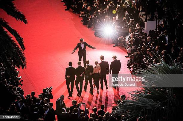 Gus Van Sant Matthew McConaughey Naomi Watts Chris Sparling guests attend the Premiere of 'The Sea Of Trees' during the 68th annual Cannes Film...