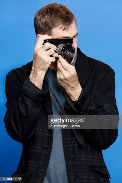 Gus Van Sant photographed at the 'Don´t Worry He Won´t Get Far On Foot' photo call during the 68th Berlin Film Festival at the Grand Hyatt Hotel on...