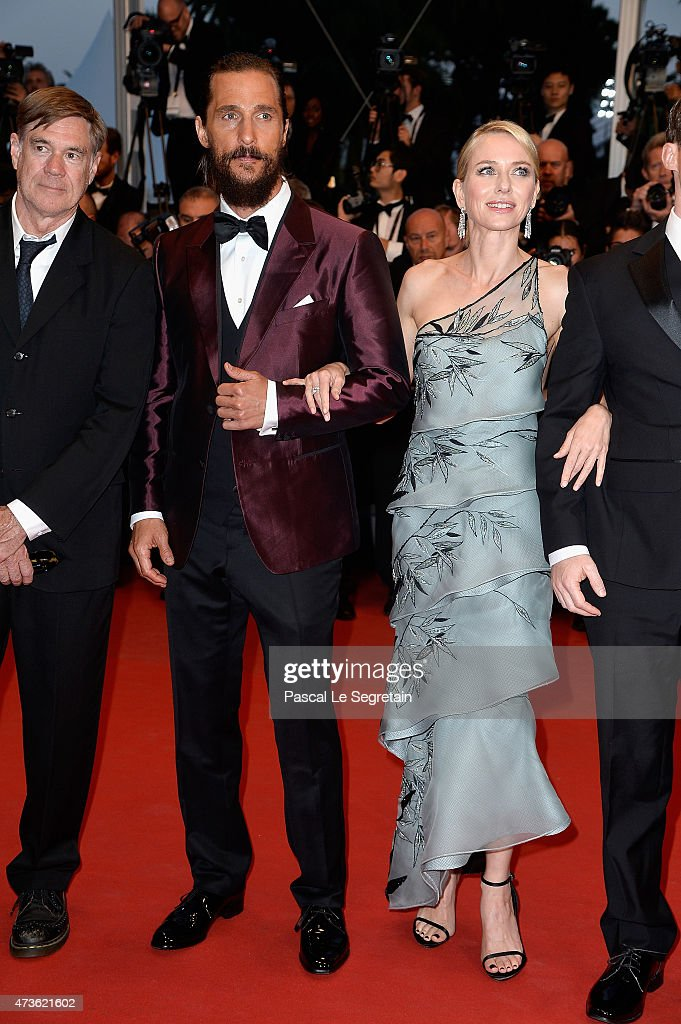 Gus Van Sant,Matthew McConaughey and Naomi Watts attends the Premiere of 'The Sea Of Trees' during the 68th annual Cannes Film Festival on May 16, 2015 in Cannes, France.