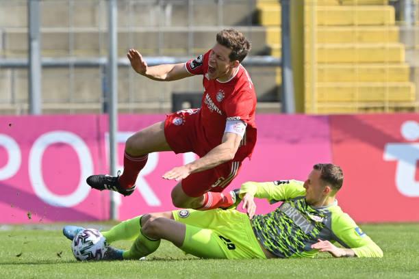 DEU: Bayern München II v SV Wehen Wiesbaden - 3. Liga