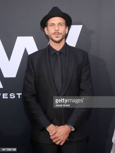 Gustaf Skarsgard attends the Premiere of HBO's 'Westworld' Season 2 at The Cinerama Dome on April 16 2018 in Los Angeles California