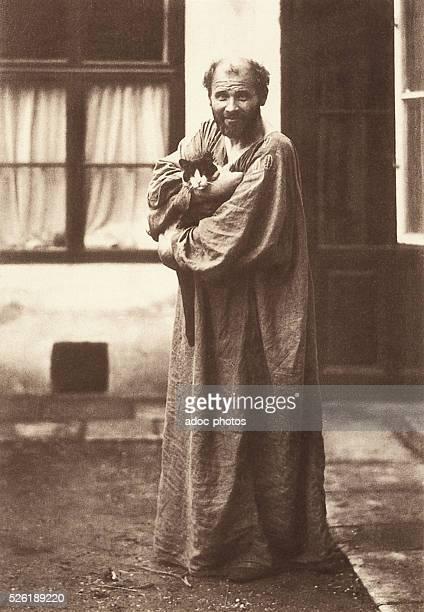 Gustav Klimt Austrian painter born in Baumgarten Ca 1910