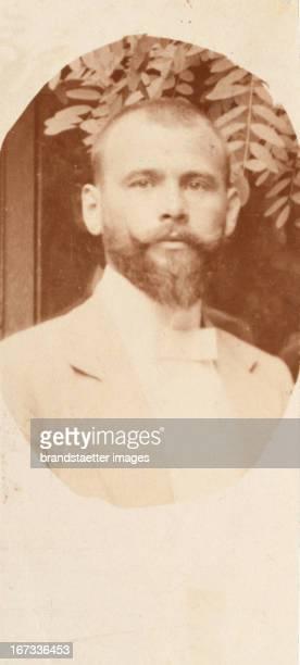 Gustav Klimt Photograph from the Sketchbook for Sonja Knips Photograph by Karl Schuster 1892 Gustav Klimt Photographie die seinem Skizzenbuch aus dem...