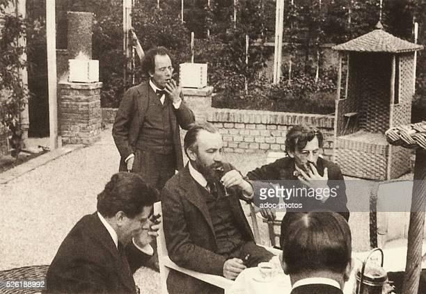 Gustav Mahler Austrian musician born in Kaliste Max Reinhardt Austrian stage director born in Baden Karl Moll Austrian painter born in Vienna Hans...