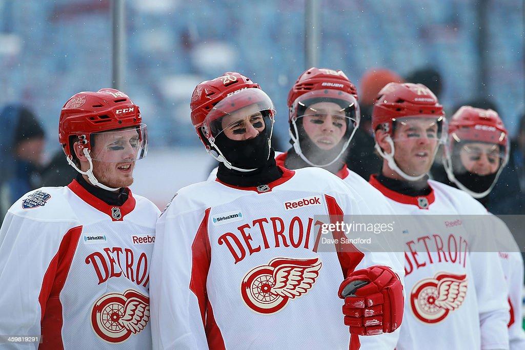 2014 Bridgestone NHL Winter Classic - Team Practice Sessions