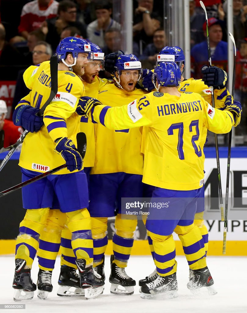 Sweden v Switzerland - 2018 IIHF Ice Hockey World Championship Gold Medal Game
