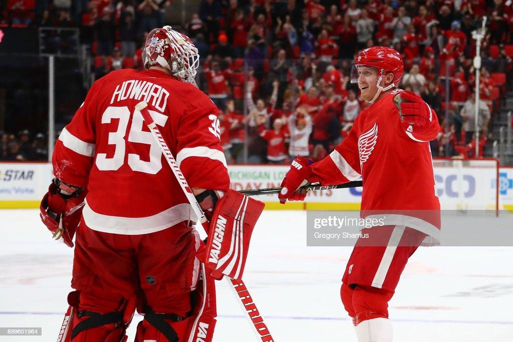 New York Rangers v Detroit Red Wings : News Photo