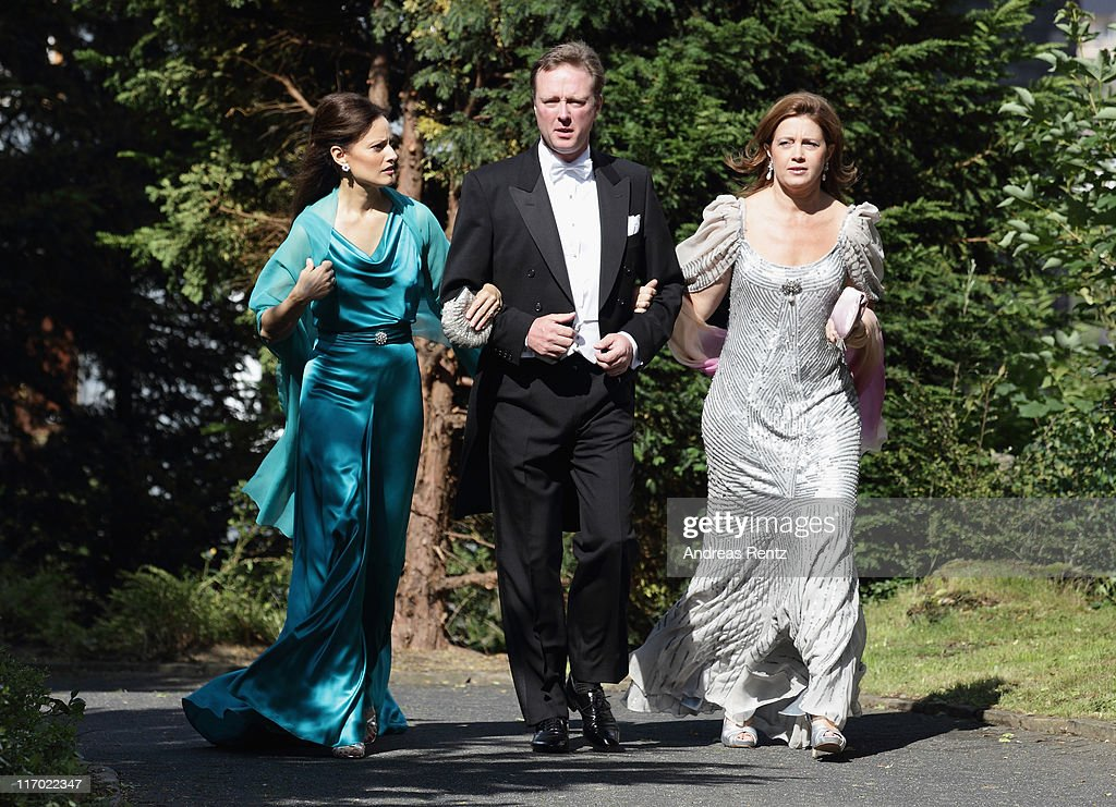 Princess Nathalie Zu Sayn-Wittgenstein-Berleburg Marries Alexander Johannsmann