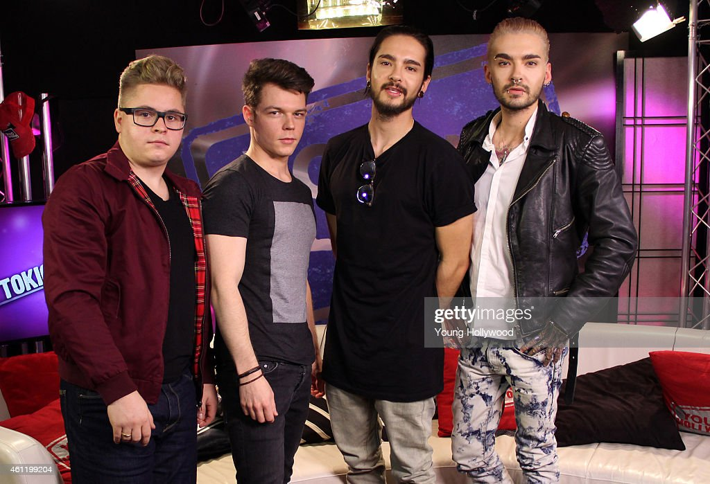 Tokio Hotel Visits Young Hollywood Studio