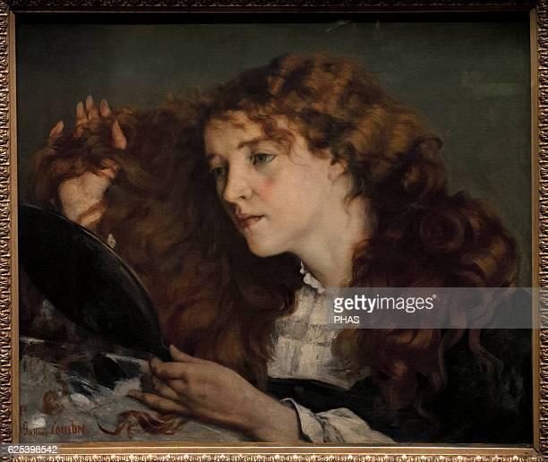 Gustave Courbet French painter Jo the Beautiful Irish Girl 1866 National Museum Stockholm Sweden
