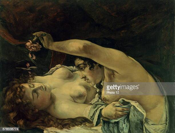 Gustave Courbet French school Awakening Le reveil 1866 Oil on canvas Bern Museum of Fine Arts