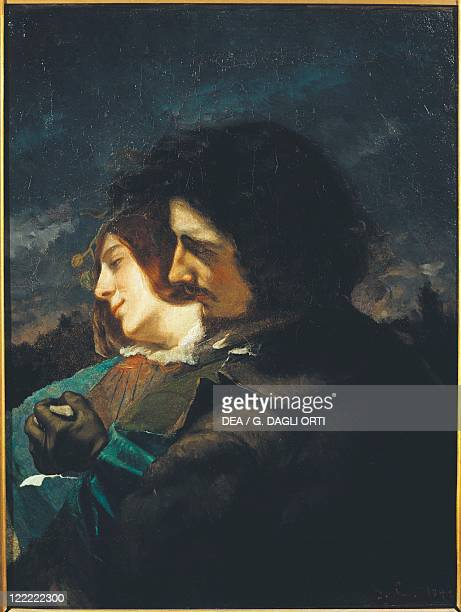 Gustave Courbet The Happy Lovers 1844