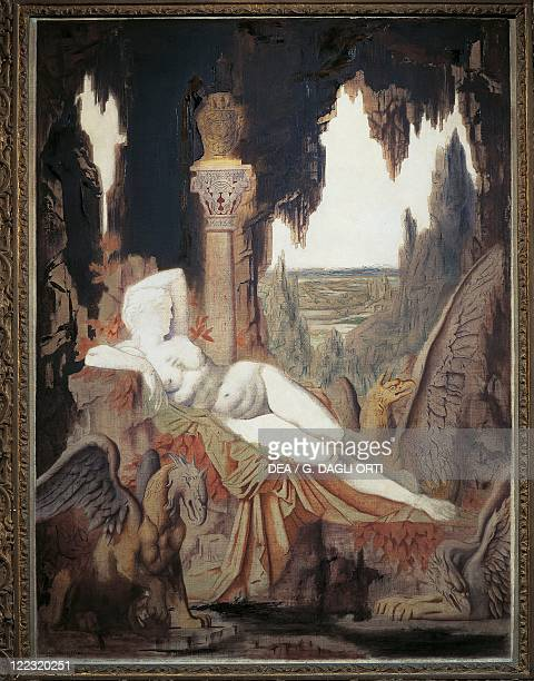 Gustave Moreau Fee aux Griffons