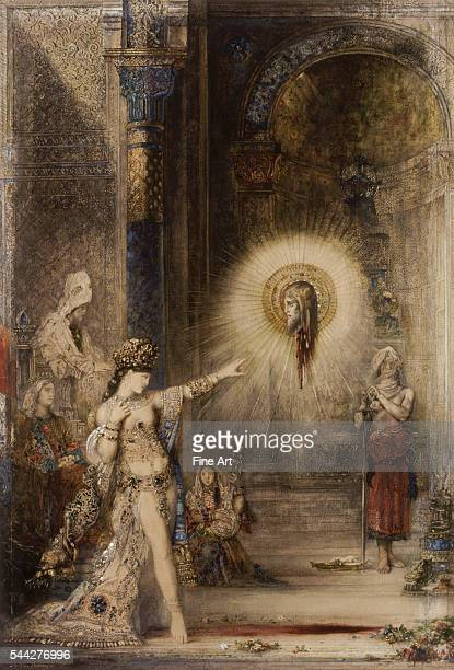 Gustave Moreau The Apparition c 1876 watercolor on paper 106 x 72 cm Musee d'Orsay Paris