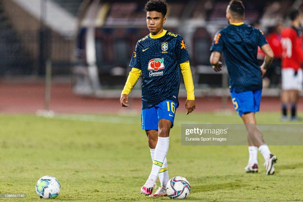 Egypt U23 v Brazil U23 - International Friendly : News Photo