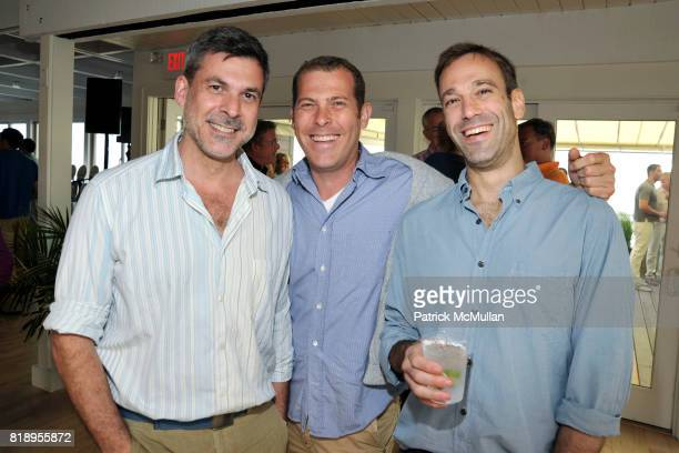Gustavo Bonevardi Jacob Feder and Zach Gleit attend MIRACLE HOUSE 20th Anniversary Memorial Day Summer Kickoff Benefit honoring Amy Chanos and Jim...