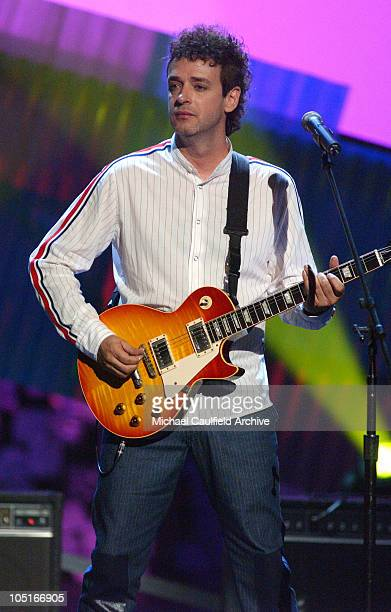 Gustavo Cerati during MTV Video Music Awards Latin America 2003 - Show at The Jackie Gleason Theater in Miami Beach, Florida, United States.