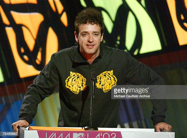 Gustavo Cerati during MTV Video Music Awards Latin America 2003 - Show at the The Jackie Gleason Theater in Miami Beach, Florida.
