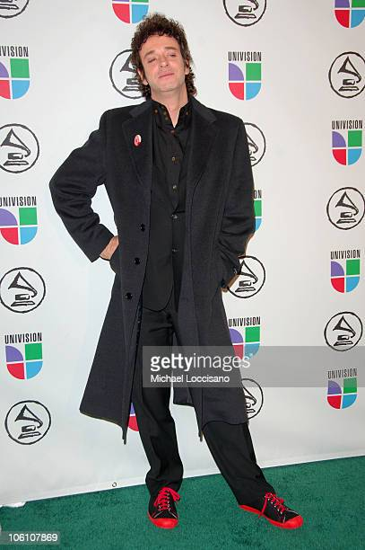 Gustavo Cerati nominee during The 7th Annual Latin GRAMMY Awards Arrivals at Madison Square Garden in New York City New York United States