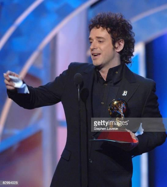 Gustavo Cerati winner Best Rock Song for Crimen