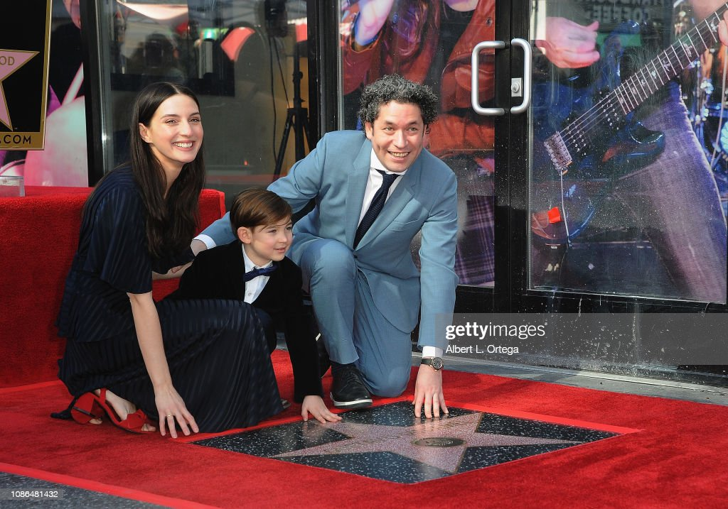 Maestro Gustavo Dudamel Honored With Star On The Hollywood Walk Of Fame : News Photo