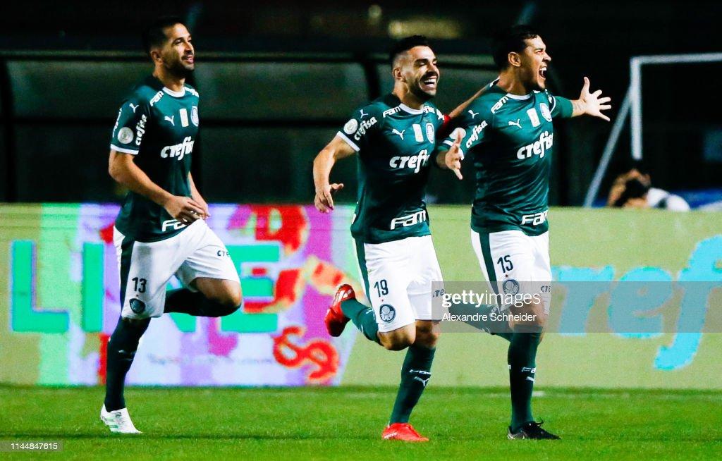 BRA: Palmeiras v Santos - Brasileirao Series A 2019