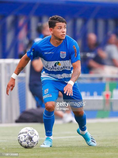 Gustavo Hamer of PEC Zwolle during the Preseason Friendly match between PEC Zwolle and Asteras Tripolis at the MAC3Park stadium on July 27 2019 in...