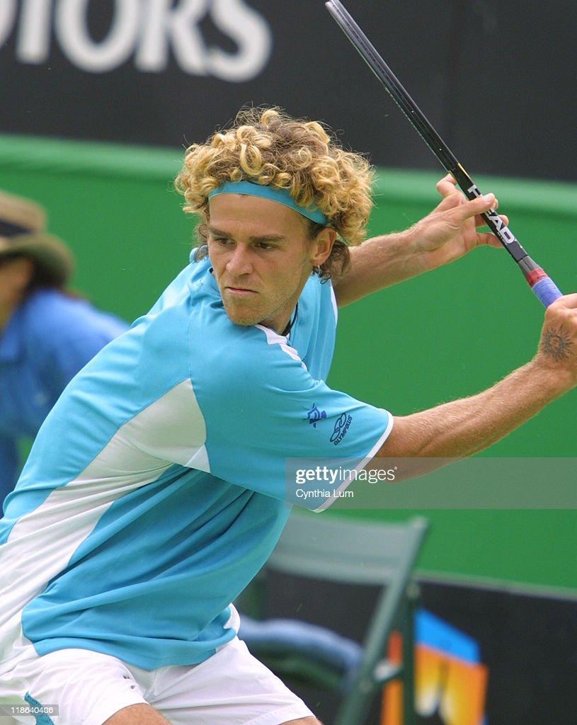 2003 Australian Open - Men's Singles - First Round - Gustavo Kuerten vs. Hicham