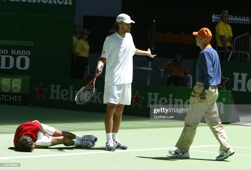 2004 Australian Open - Men's Singles - First Round - Gustavo Kuertin vs John