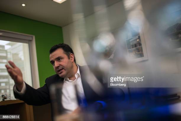 Gustavo Sousa chief executive officer of CPFL Energias Renovaveis SA speaks during an interview in Sao Paulo Brazil on Thursday Dec 7 2017 CPFL...