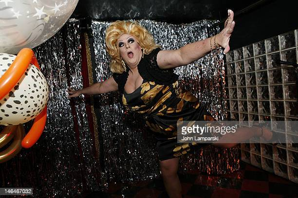Gusty Wind performs at Alex Carr's birthday celebration>> at The Stonewall Inn on June 16 2012 in New York City