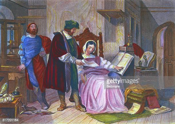 Gutenberg's First Printing Press