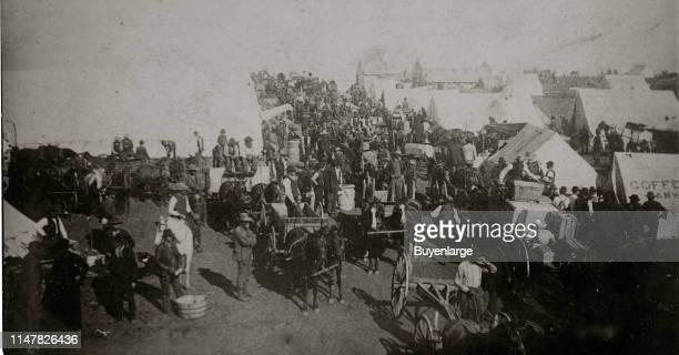 Guthrie Indian Territory' Land Rush 1889 Oklahoma Sooners Land Rush