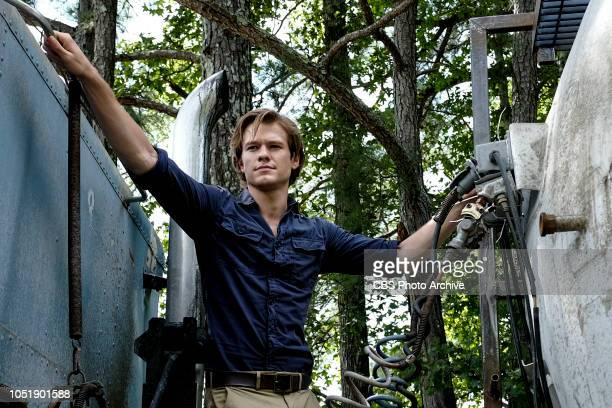 """""""Guts + Fuel + Hope"""" - MacGyver and Riley, with the help of Vasil , a distraught father, must find a way to drive a tanker filled with liquid oxygen..."""