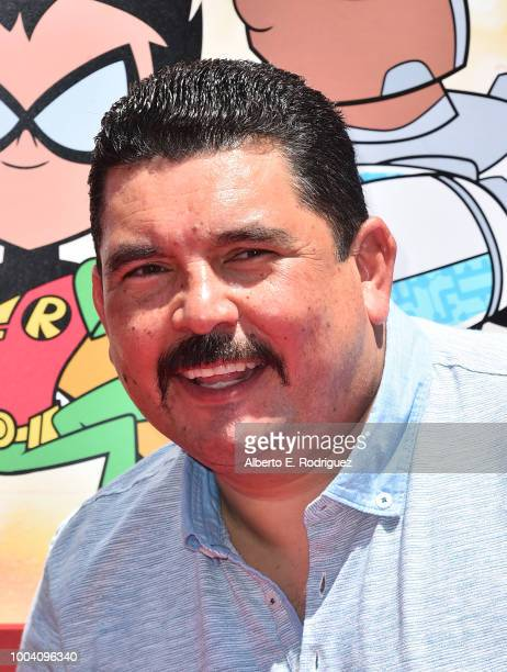 Guuillermo Rodriguez attends the premiere of Warner Bros Animation's Teen Titans Go To The Movies at TCL Chinese Theatre IMAX on July 22 2018 in...