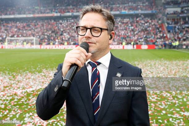 Guus Meeuwis during the PSV trophy celebration at the Philips Stadium on April 15 2018 in Eindhoven Netherlands