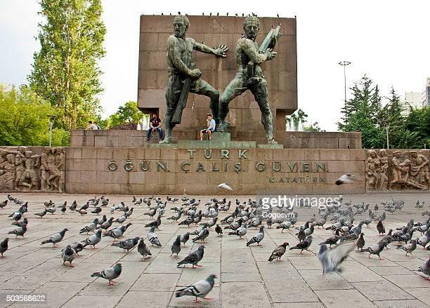 guvenpark 記念碑 - トルコ アンカラ ストックフォトと画像