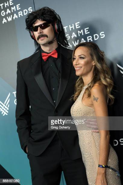 Guy Beahm AKA Dr Disrespect attends The Game Awards 2017 at Microsoft Theater on December 7 2017 in Los Angeles California