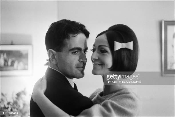 Guy Beartdance the tango withKouka in France in November 1961