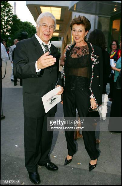 Guy Bedos and MarieLouise de ClermontTonnerre at Opening Night Of The Play Mademoiselle Chanel' In Paris