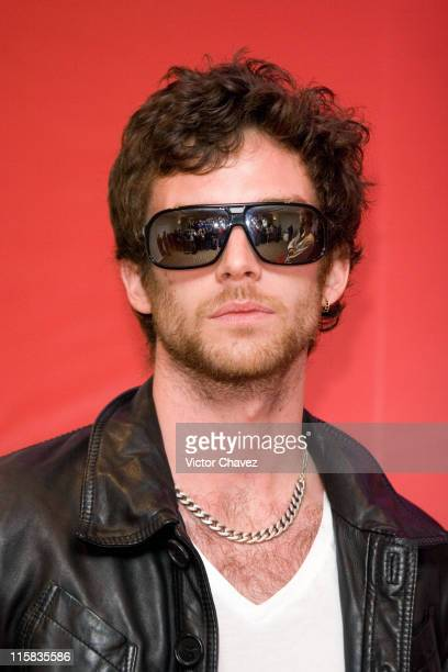 Guy Berryman of Coldplay during Coldplay Press Conference Final Performance of their XY Tour in Mexico City March 4 2007 in Mexico City Mexico Mexico