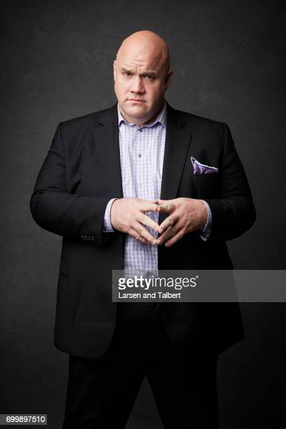 Guy Branum of 'Talk Show the Game Show' is photographed for Entertainment Weekly Magazine on June 10 2017 in Austin Texas