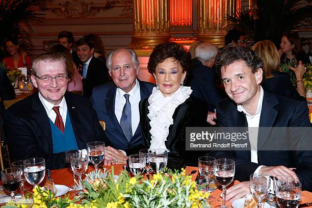 Guy Cogeval President of the 'Societe des Amis du Musee D'Orsay' JeanLouis Milin Countess Jacqueline de Ribes and Philippe Sereys de Rothschild...